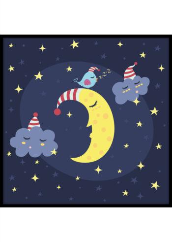 Plakat dla dziecka: Dobranoc
