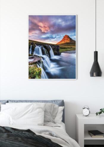Plakat do salonu - Islandia