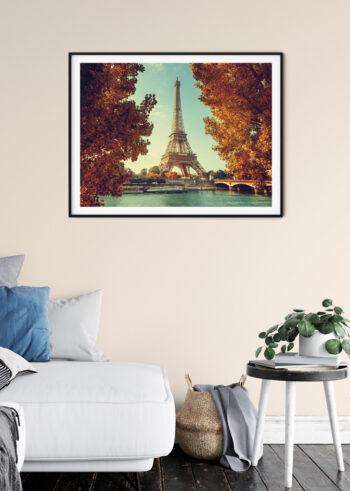 Jesienny Paryż - plakaty do salonu