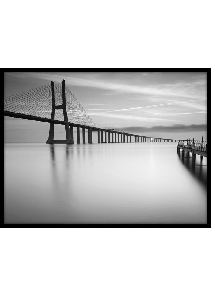 Plakaty do salonu: Lizbona - Most Vasco da Gama