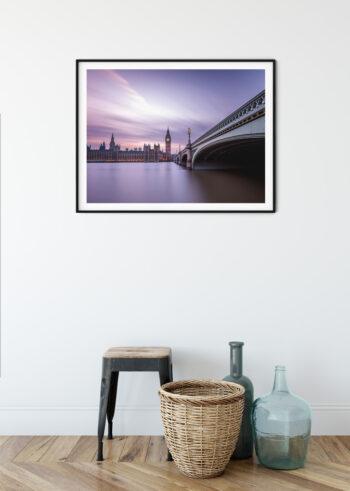 Plakat do salonu Londyn - Most Westminster