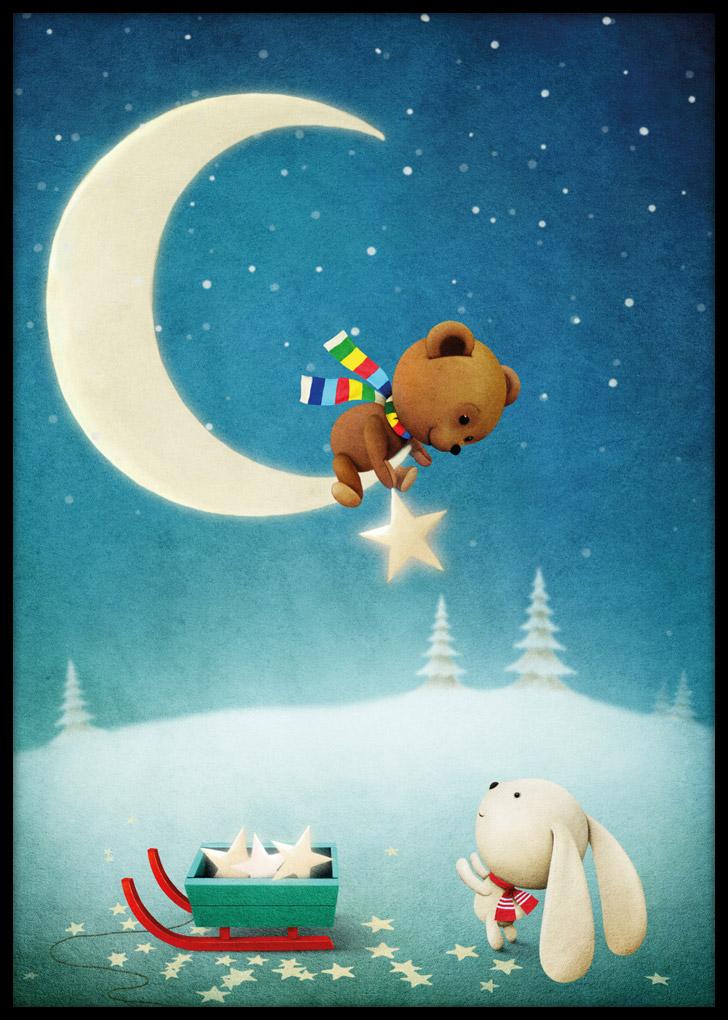 Plakaty dla dzieci - Magiczna Noc