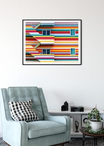 Plakaty do salonu - Miejskie Kolory