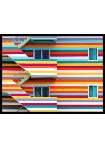 Miejskie Kolory - plakaty do salonu