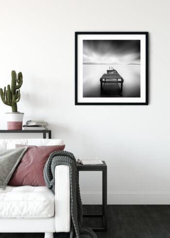 Sypialnia - plakaty czarno białe
