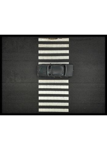 Samochód na Pasach - plakat do salonu na ścianę
