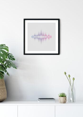 Plakat do salonu - Sound Wave