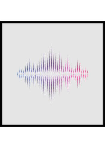 Sound Wave - plakaty do salonu